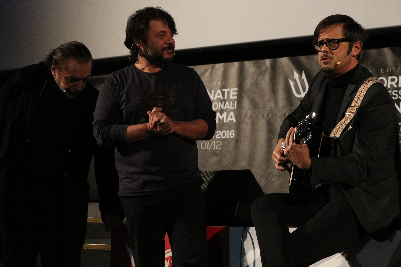 Natale a Londra: Nino Frassica e Lillo & Greg alla presentazione del film a Sorrento