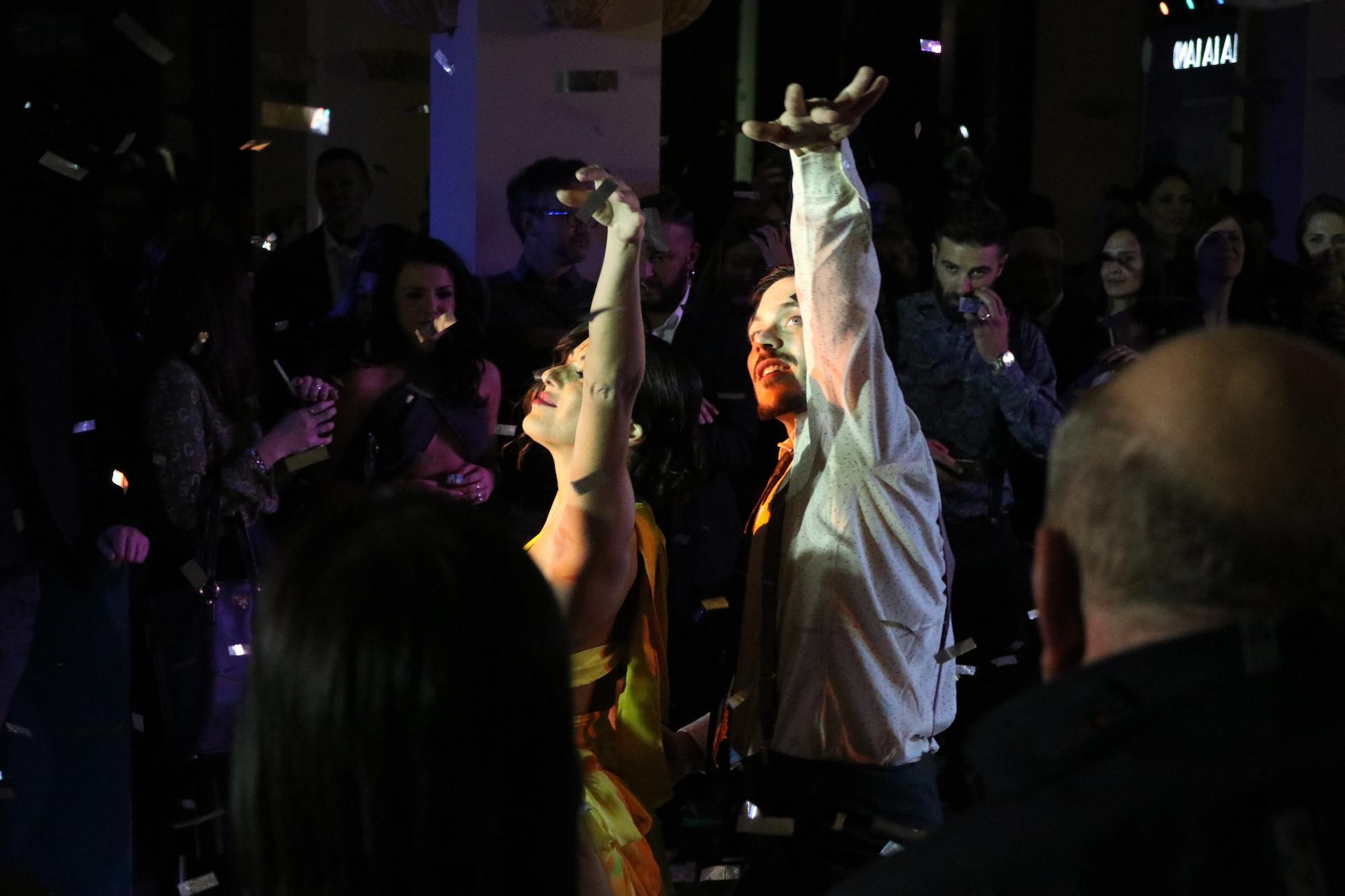 La La Land: ballerini alla festa organizzata da 01 Distribution a Sorrento