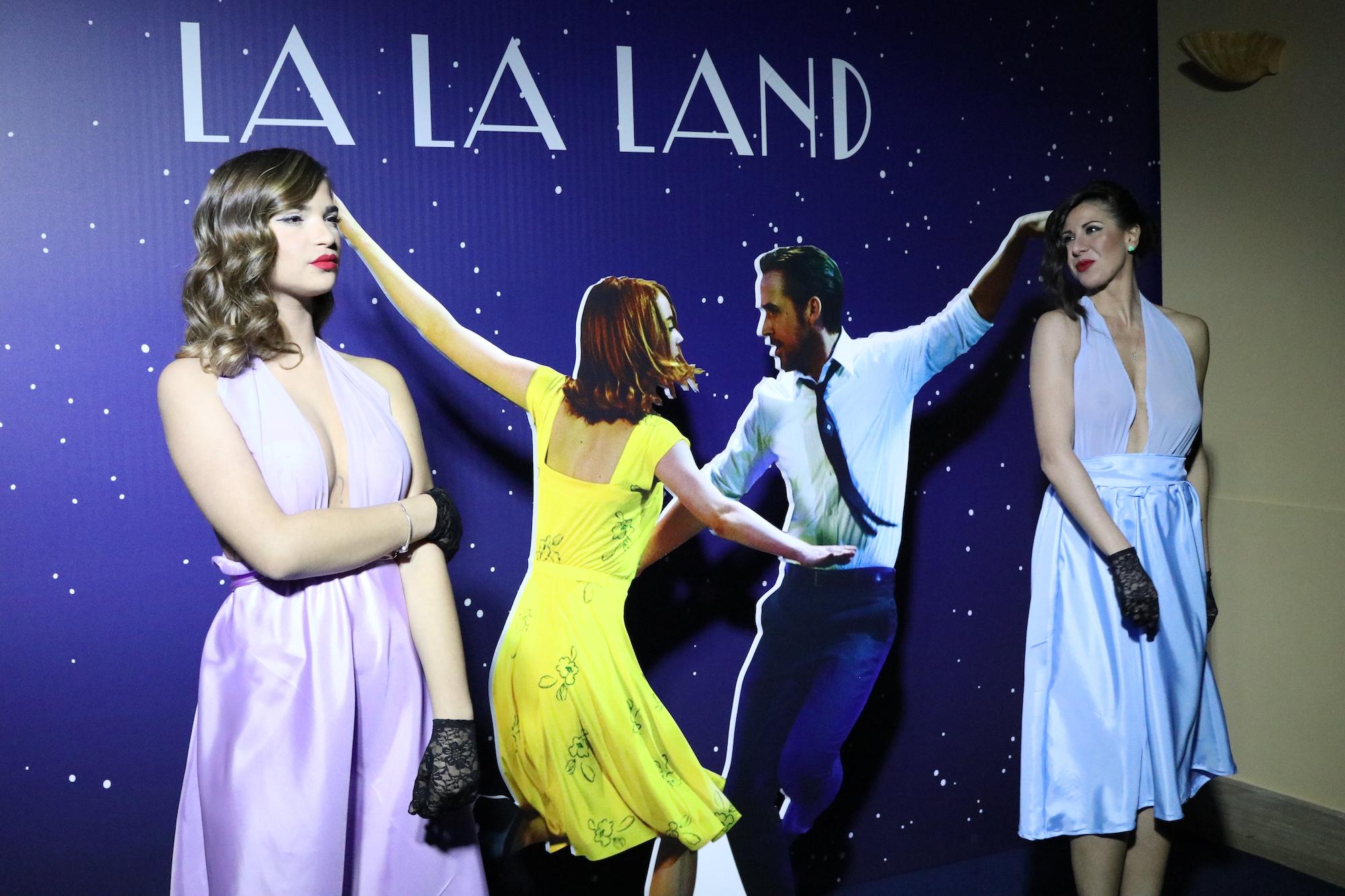 La La Land: un immagine della festa organizzata da 01 Distribution a Sorrento