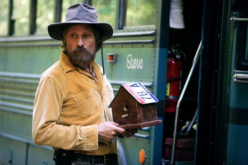 Captain Fantastic: Viggo Mortensen in un'immagine del film