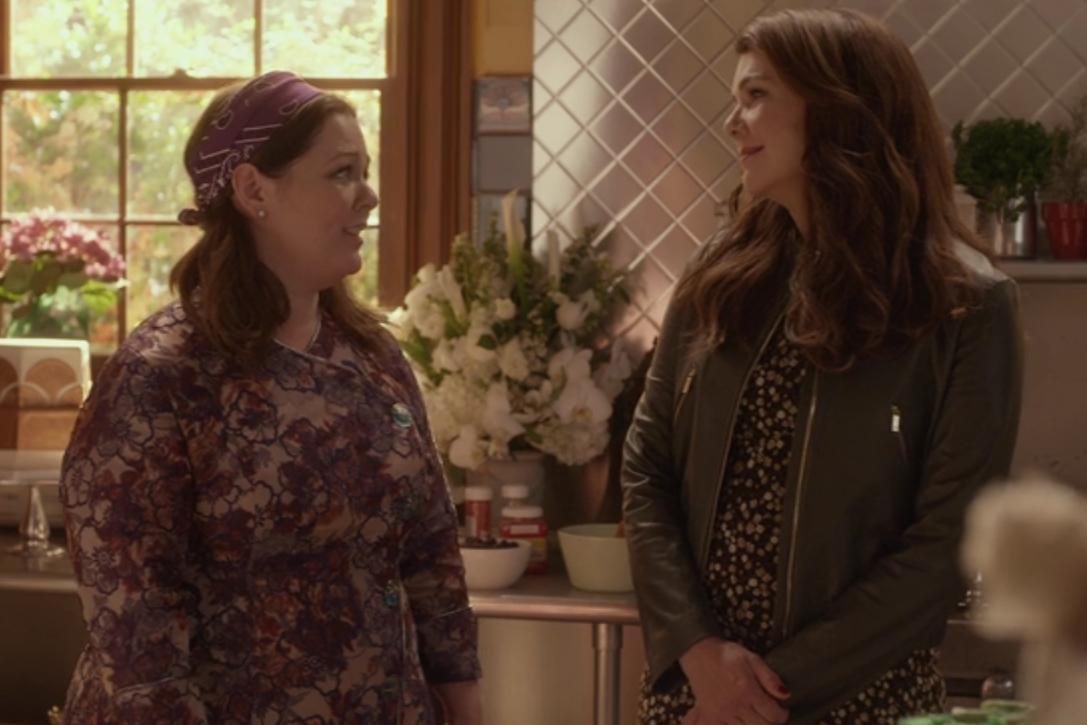 Una mamma per amica: di nuovo insieme, Lauren Graham e Melissa McCarthy in una scena