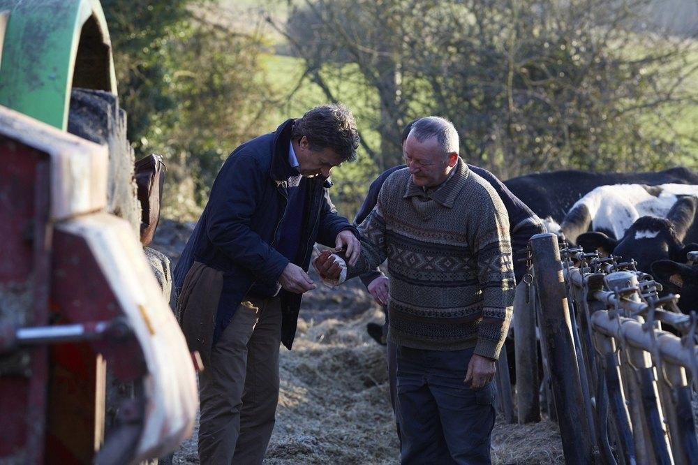 Il medico di campagna: François Cluzet in un momento del film