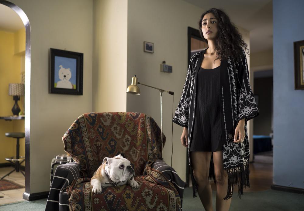 Paterson: Golshifteh Farahani in una scena del film