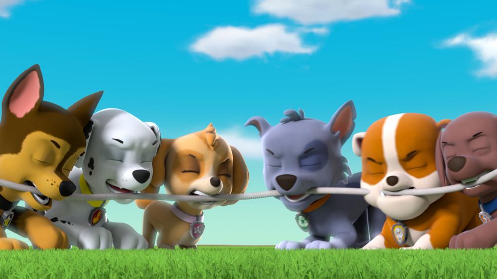 Paw Patrol: un'immagine della serie animata
