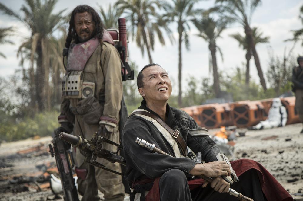 Rogue One: due dei protagonisti del film
