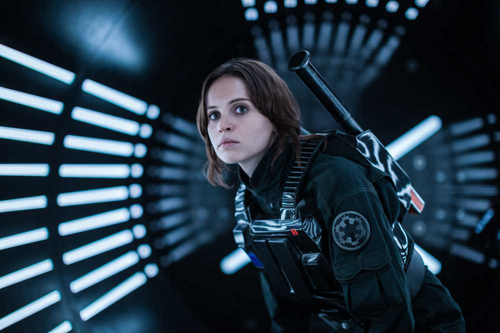 Rogue One: Felicity Jones in un'immagine del film