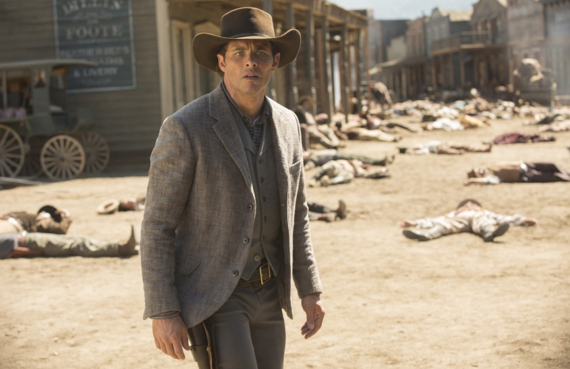 Westworld: l'attore James Marsden in The Bicameral Mind