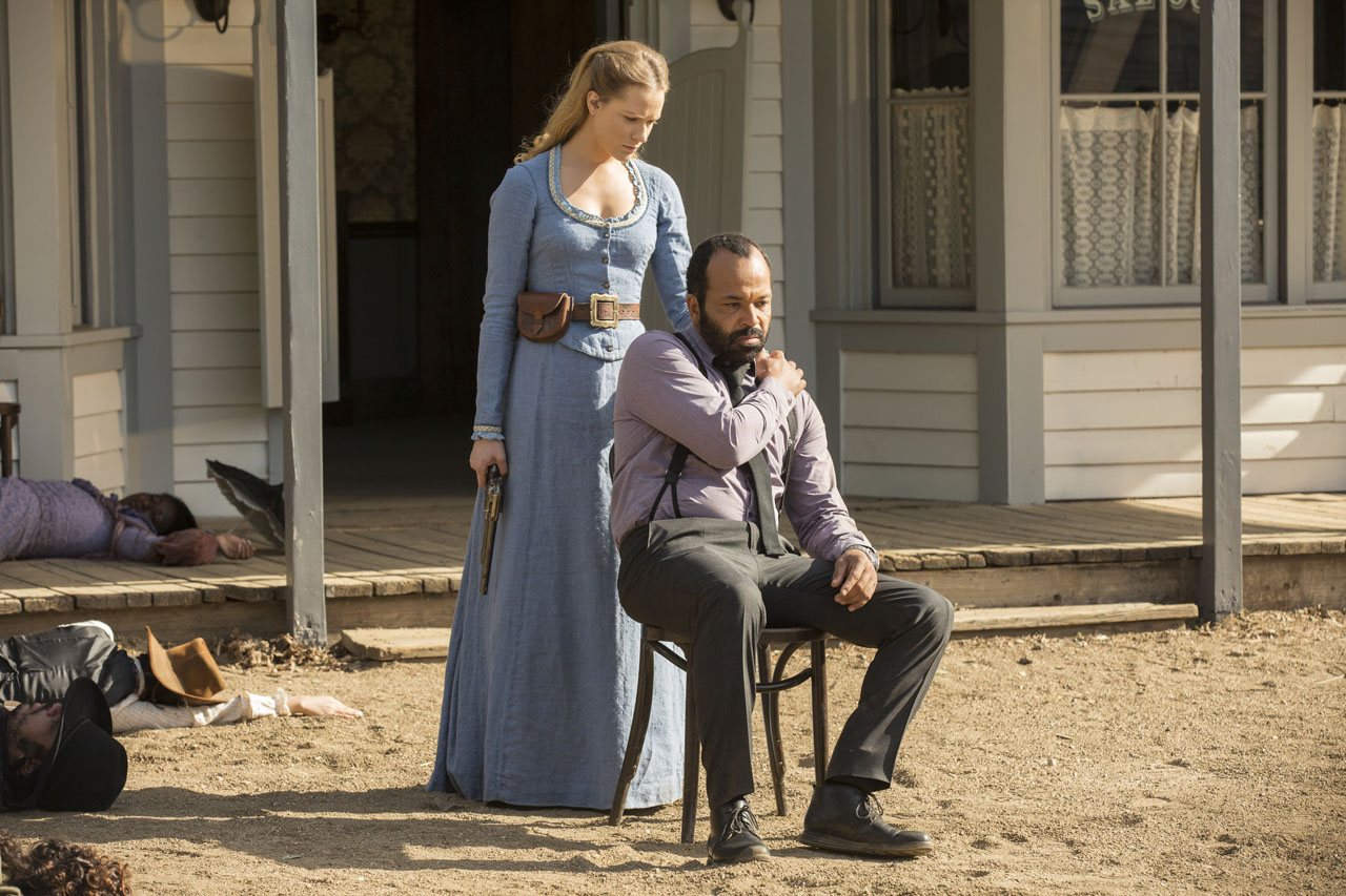 Westworld: Evan Rachel Wood e Jeffrey Wright in The Bicameral Mind
