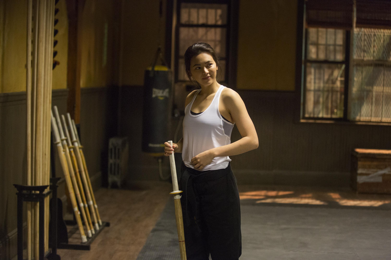 Iron Fist: Jessica Henwick in una foto della serie