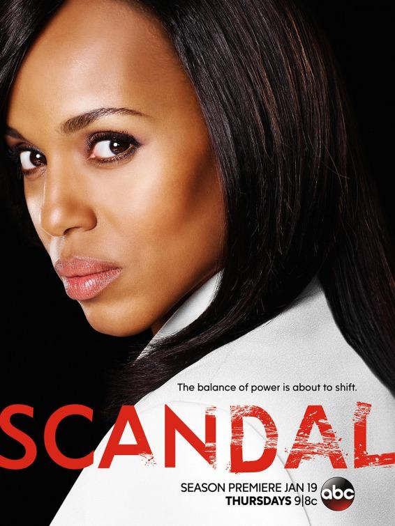 Scandal: il poster della nuova stagione