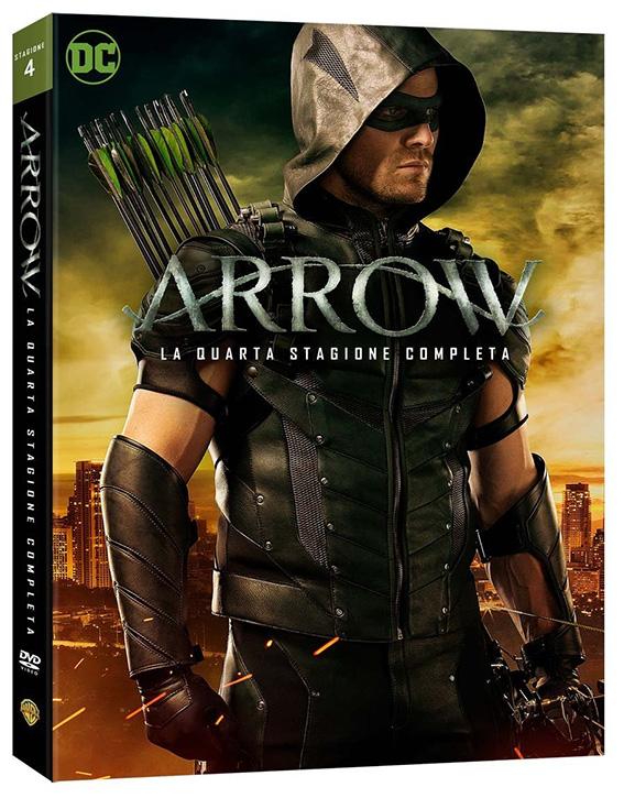 La cover della stagione 4 di Arrow