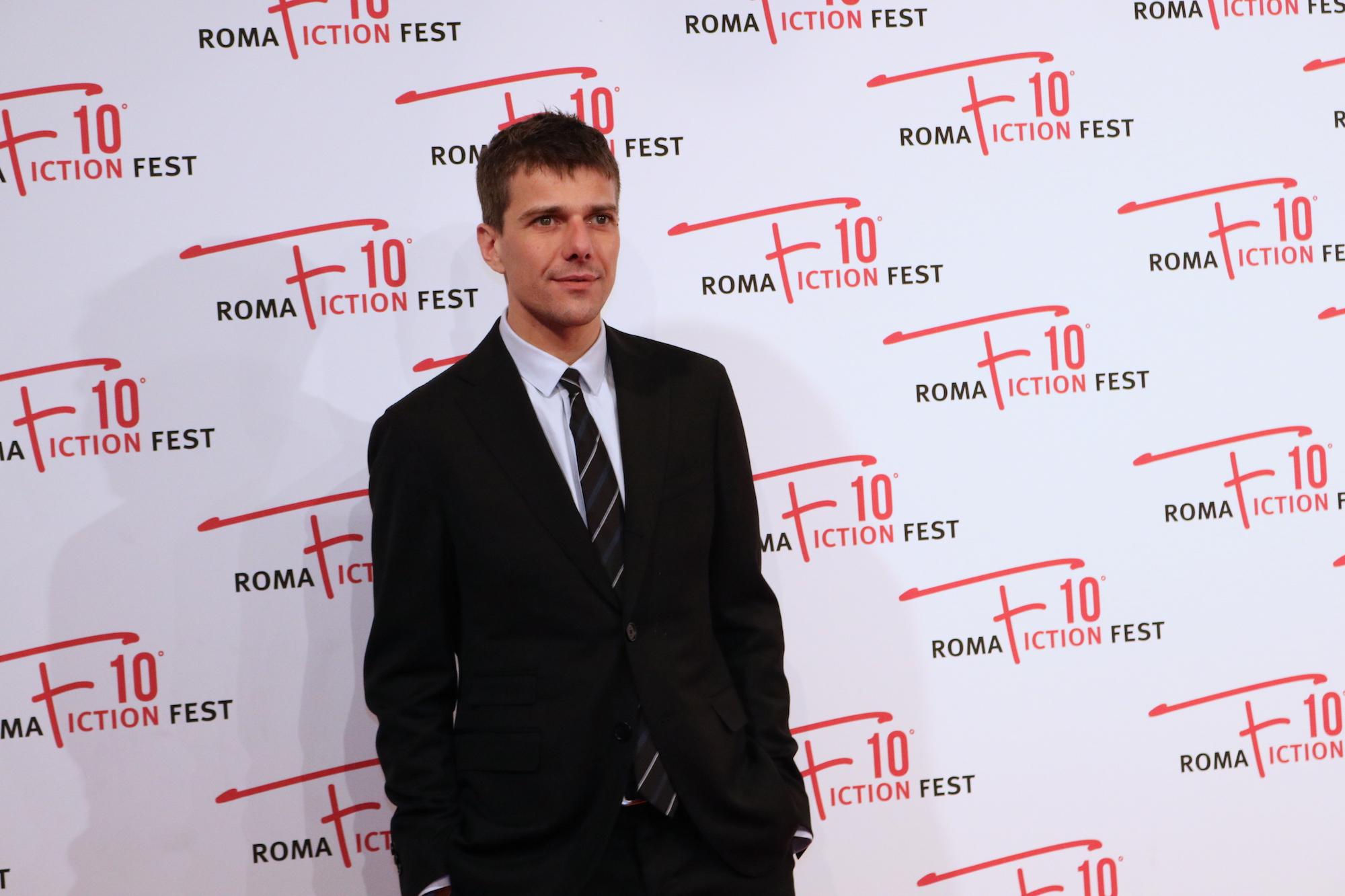 Roma Fiction Fest 2016: Domenico Diele sul red carpet di Di padre in figlia