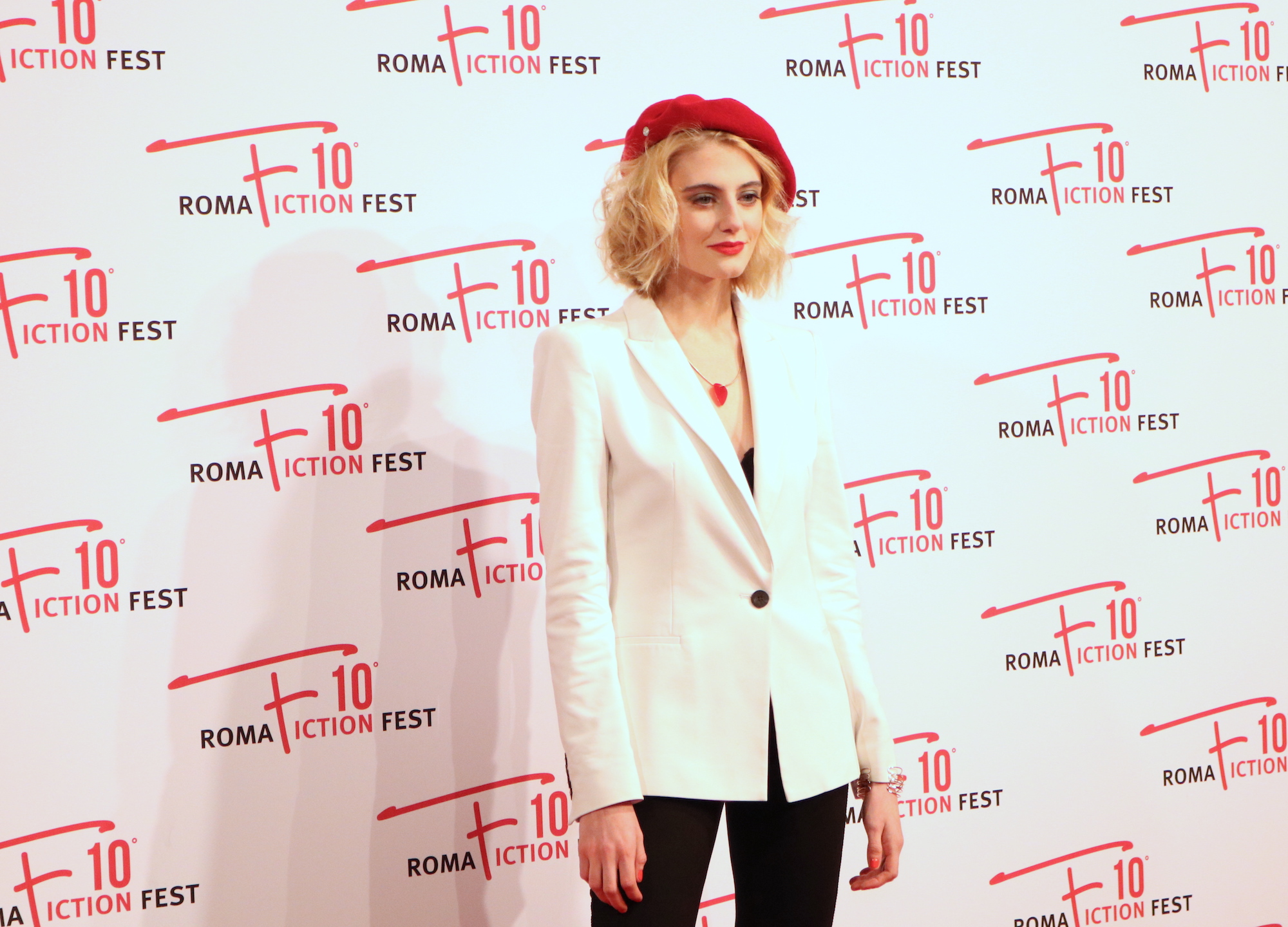 Roma Fiction Fest 2016: Demetra Bellina sul red carpet di Di padre in figlia