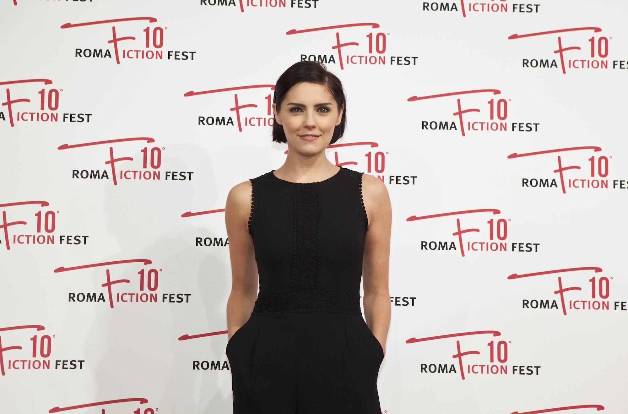 I Medici: Annabel Scholey posa al RomaFictionFest 2016