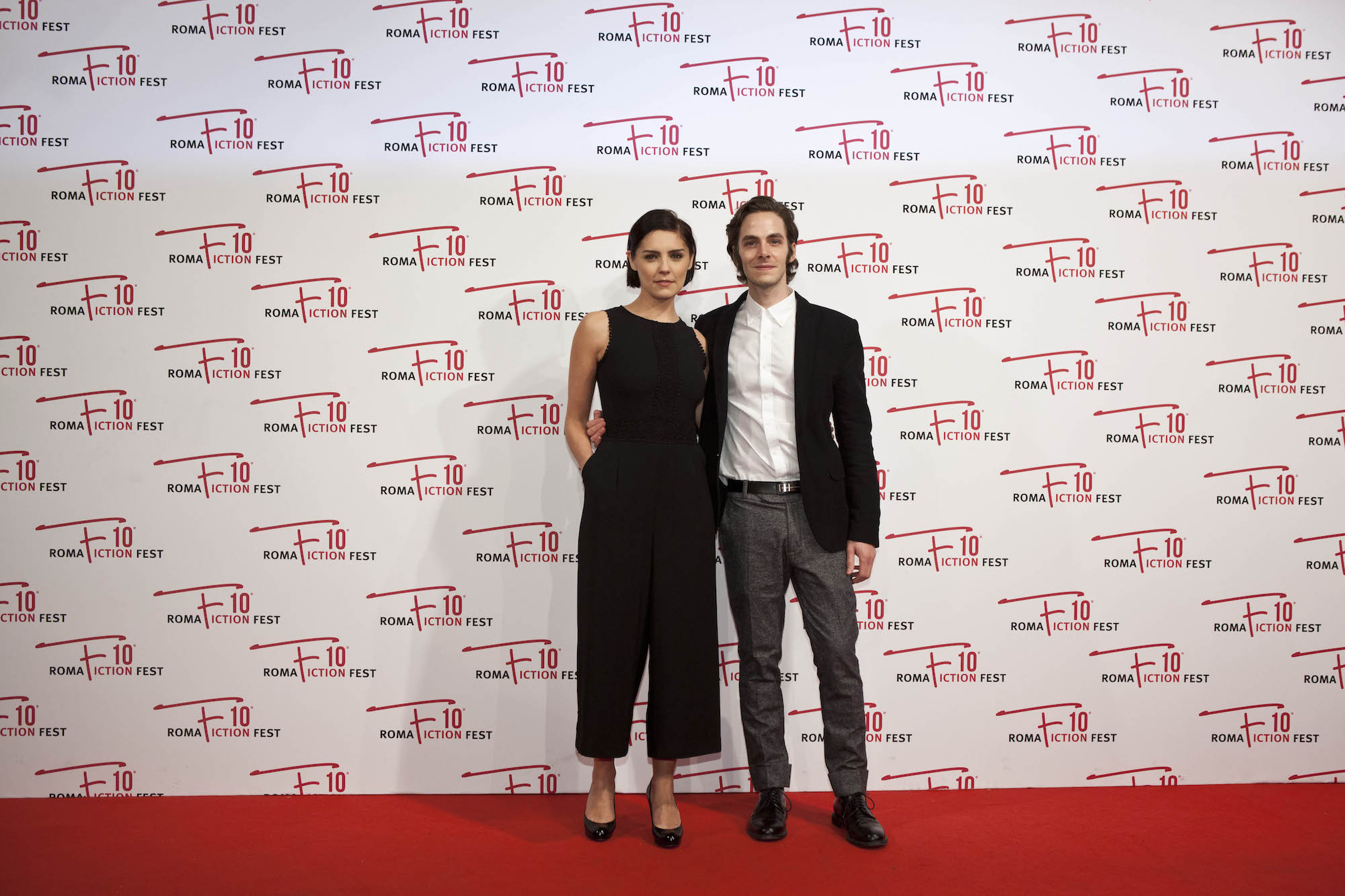 I Medici: Annabel Scholey e Alessandro Sperduti al RomaFictionFest 2016