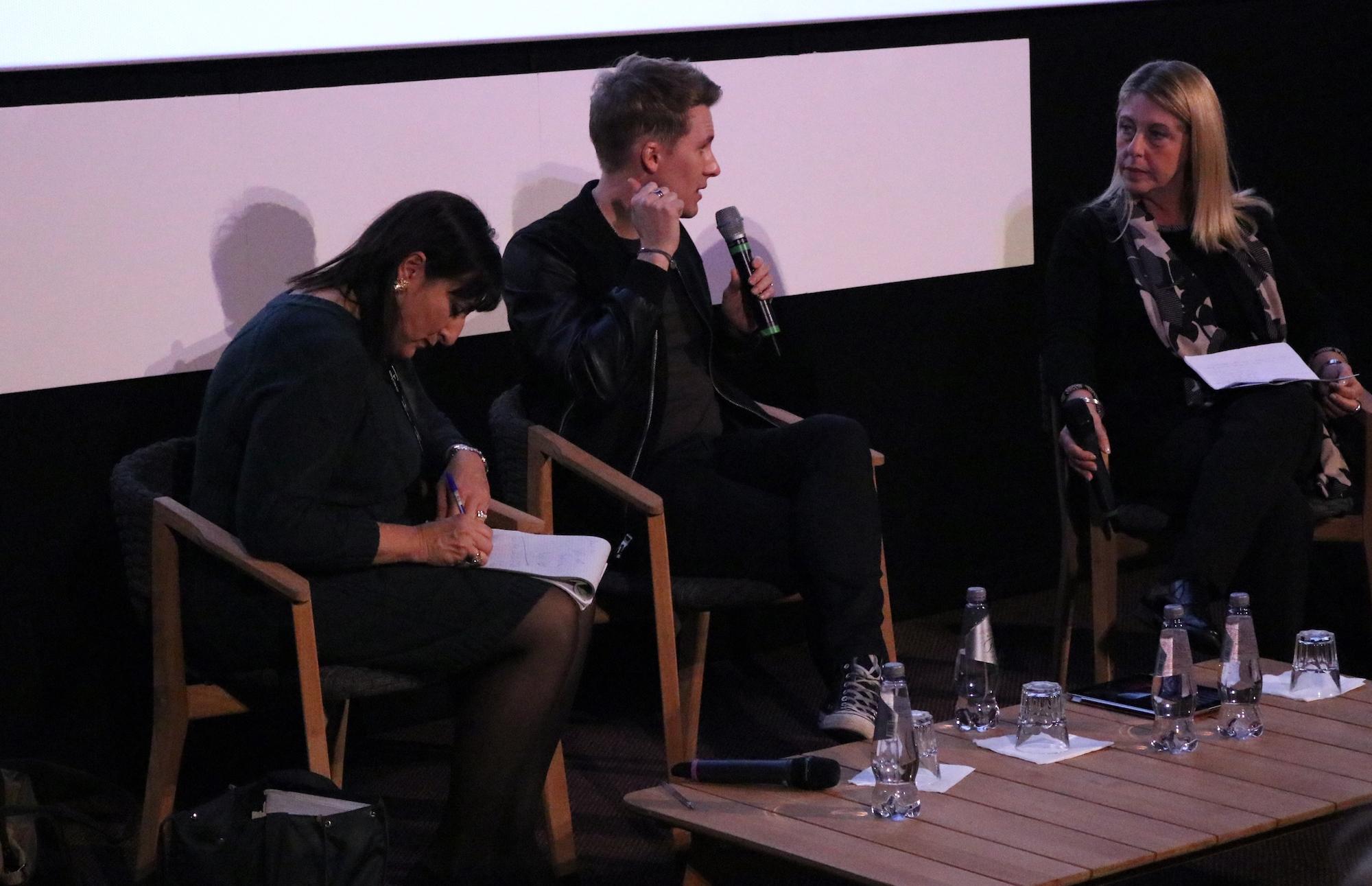 Roma Fiction Fest 2016: Dustin Lance Black durante la conferenza stampa