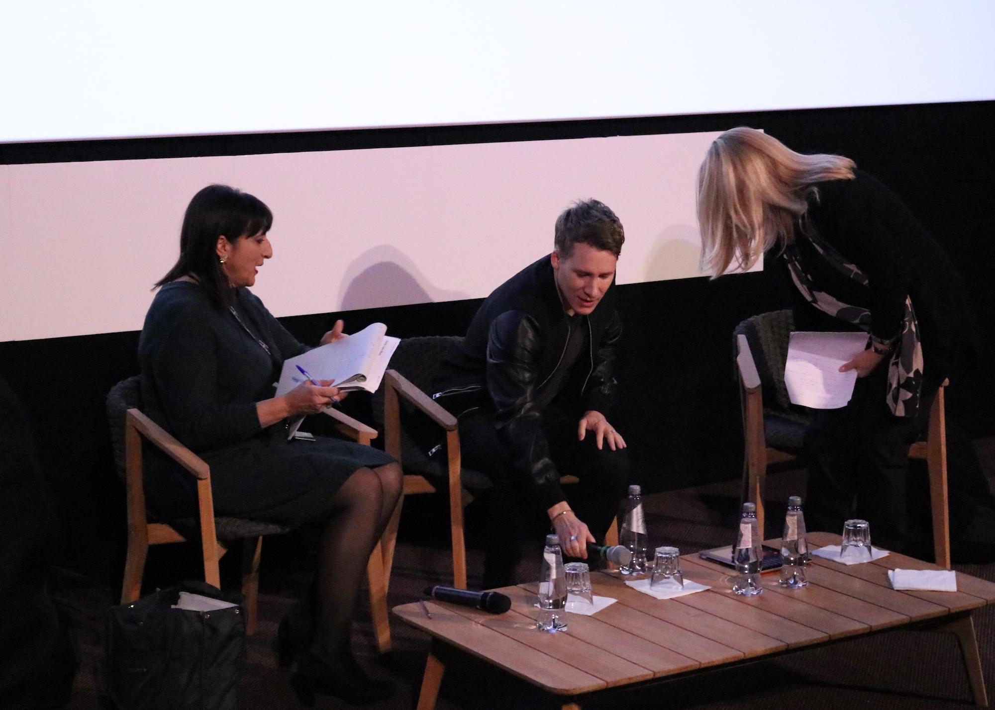 Roma Fiction Fest 2016: Dustin Lance Black durante la conferenza