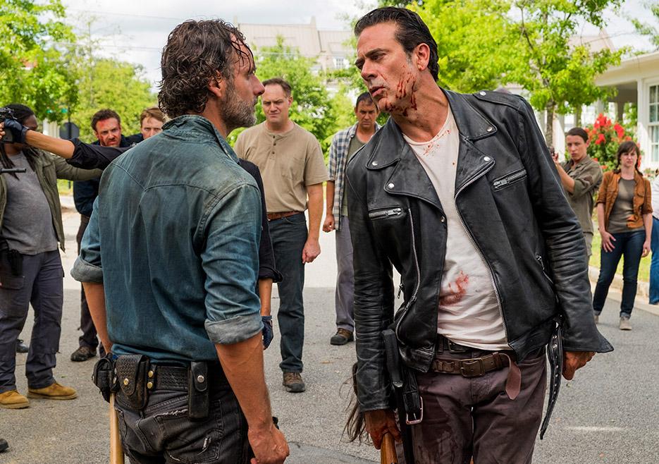 The Walking Dead: gli attori Andrew Lincoln e Norman Reedus in Hearts Still Beating