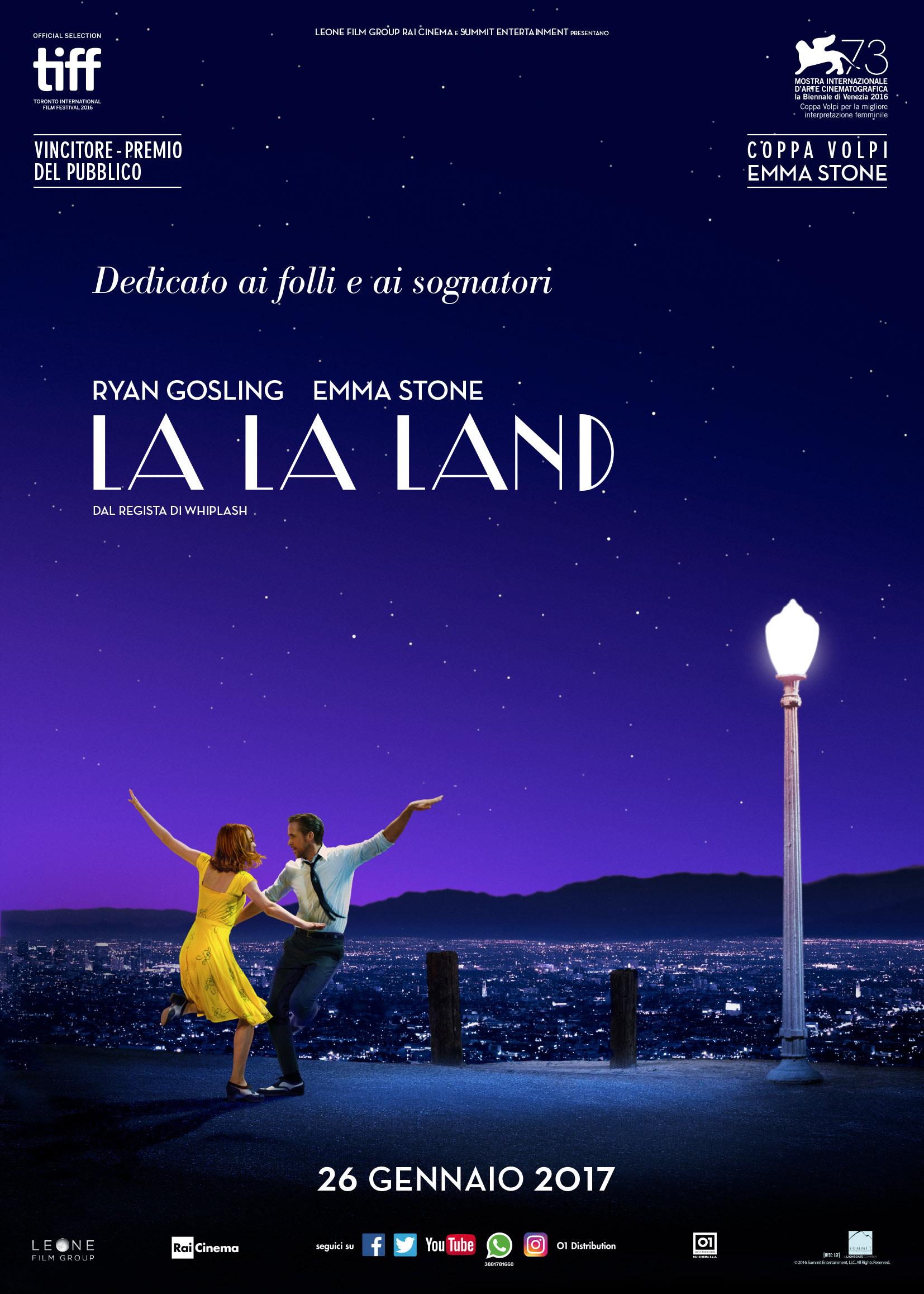 La La Land: il poster italiano