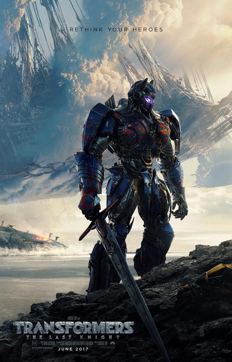 Transformers: The Last Knight, un nuovo poster del film