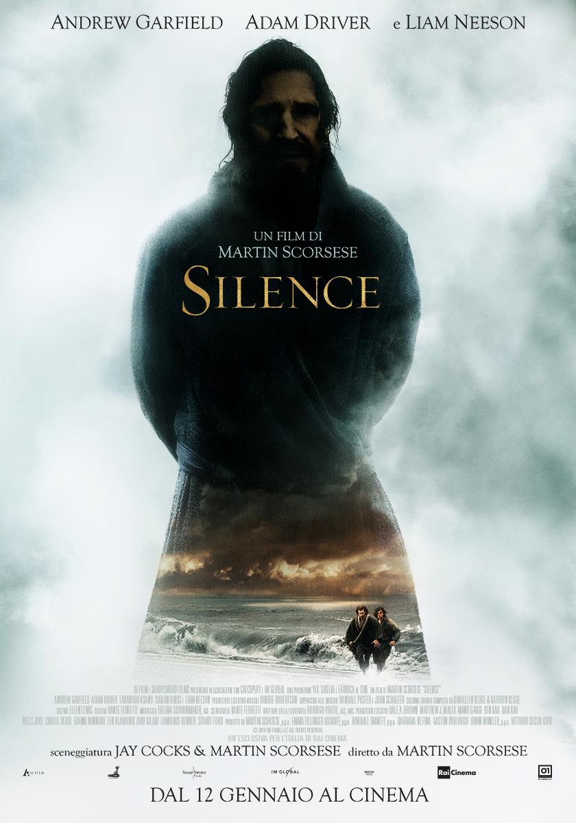 Il manifesto italiano di Silence di Scorsese