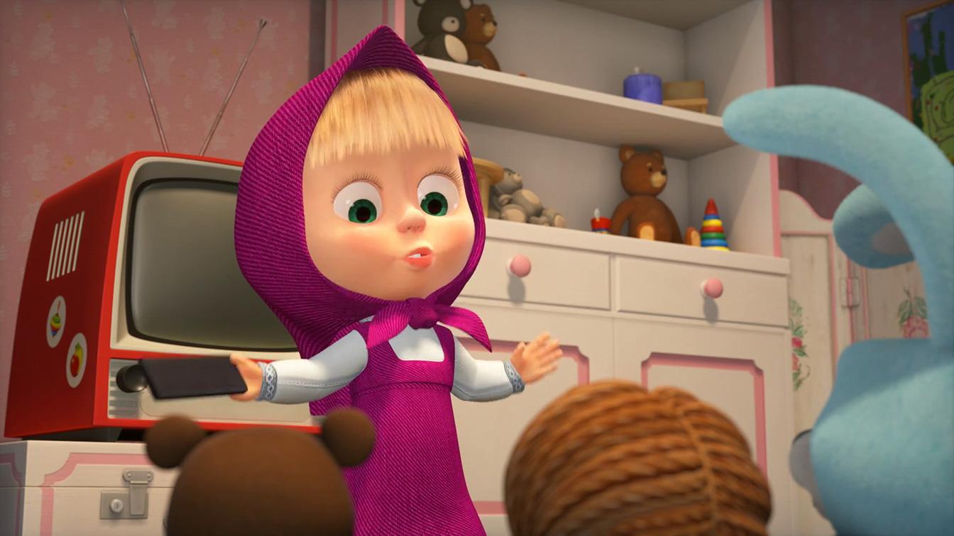 Masha e orso - Nuovi amici: un momento del film animato