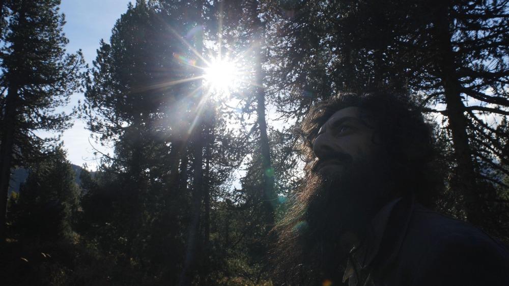 Segantini - Ritorno alla natura: Filippo Timi in una scena del documentario