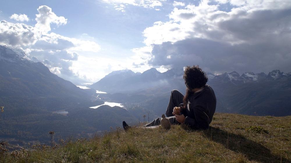 Segantini - Ritorno alla natura: Filippo Timi in un'immagine tratta dal documentario
