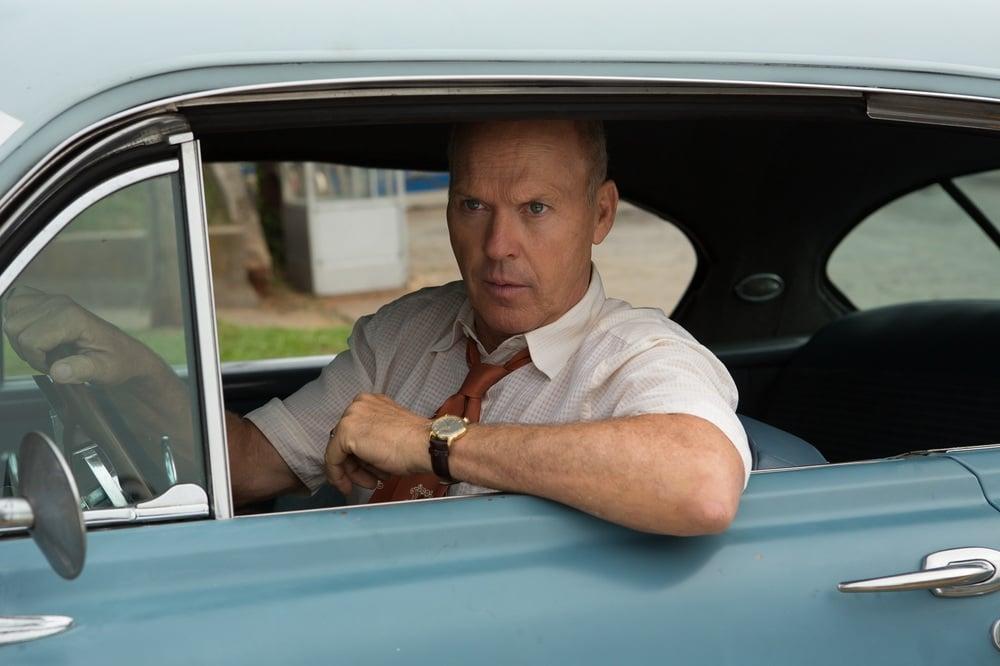 The Founder: Michael Keaton in una scena del film