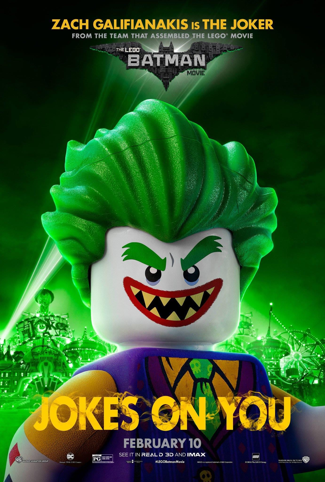 LEGO Batman: Il Film, il character poster del Joker