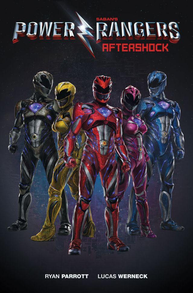 Power Rangers: la copertina di Aftershock