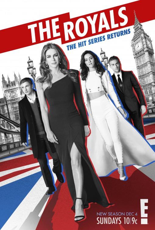 The Royals: la locandina della terza stagione