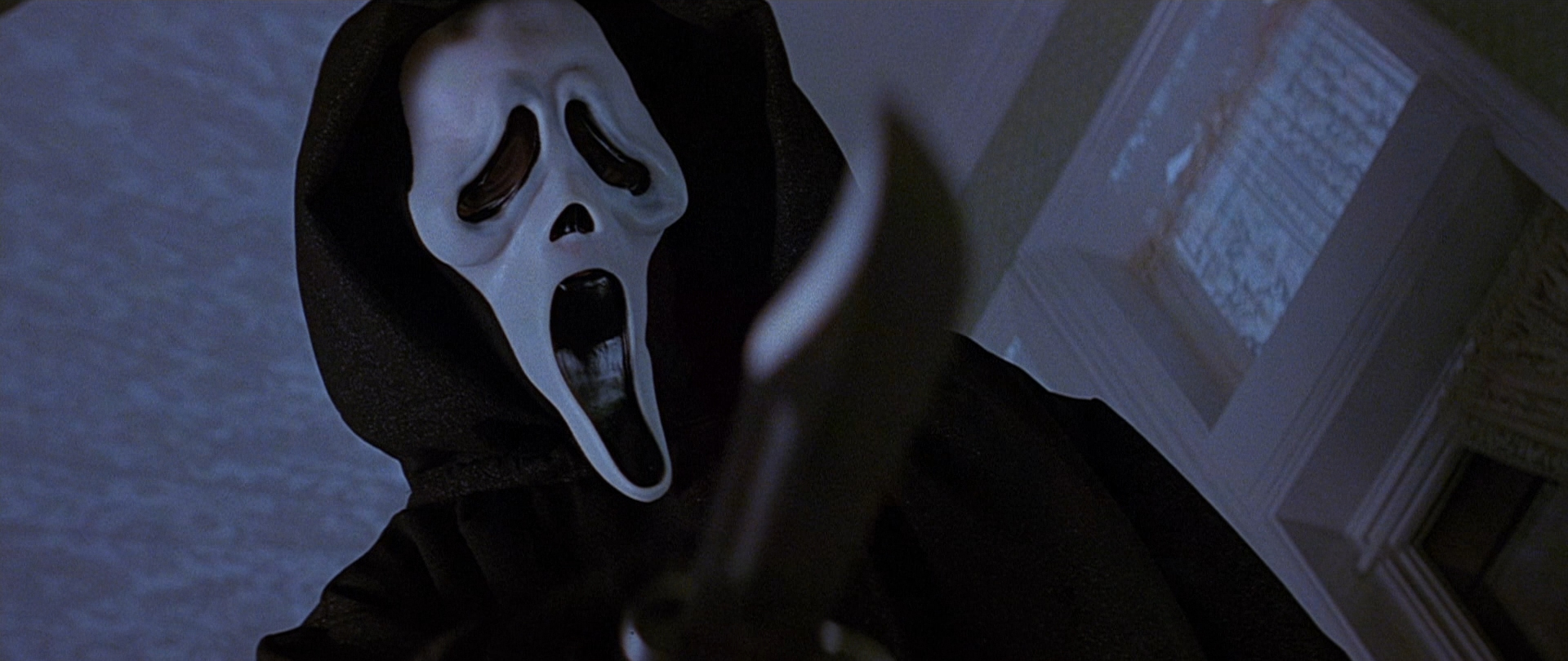 Una scena di Scream