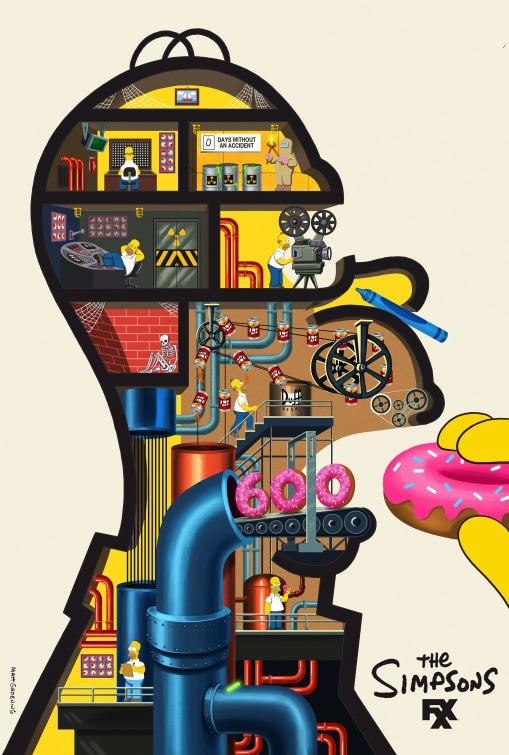 I Simpson: work art per la serie animata
