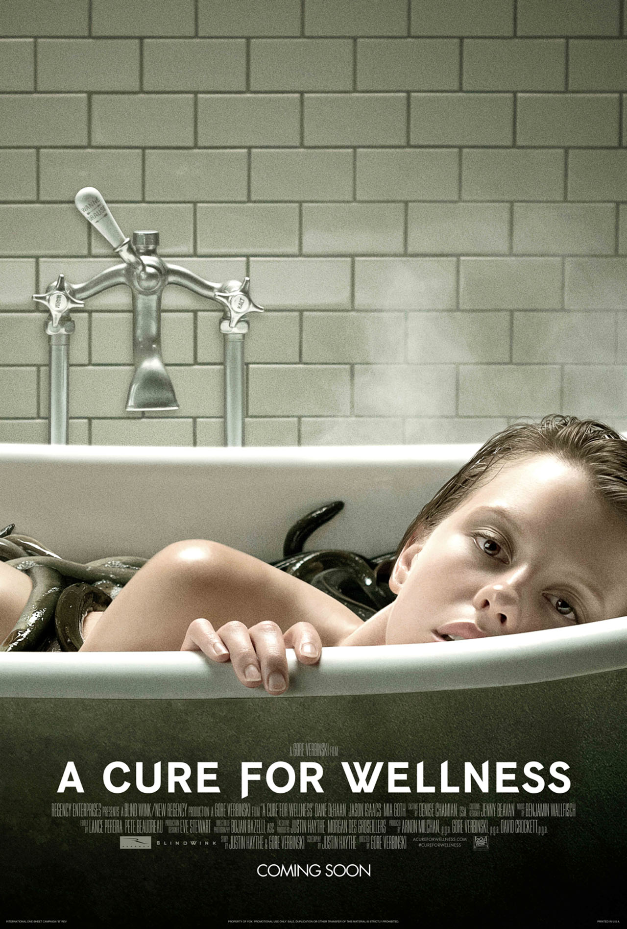 A Cure for Wellness: la nuova locandina originale