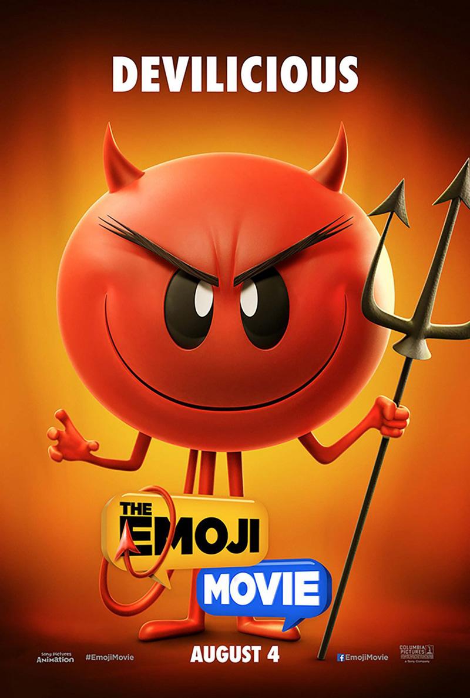 The Emoji Movie: uno dei character poster