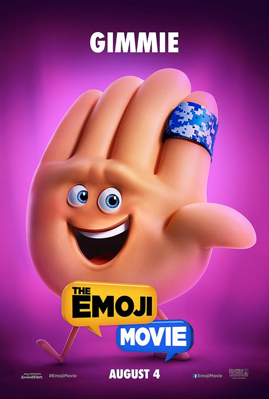 The Emoji Movie: il character poster di Hi5