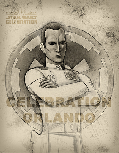 Star Wars Celebration 2017: uno dei badge dell'evento