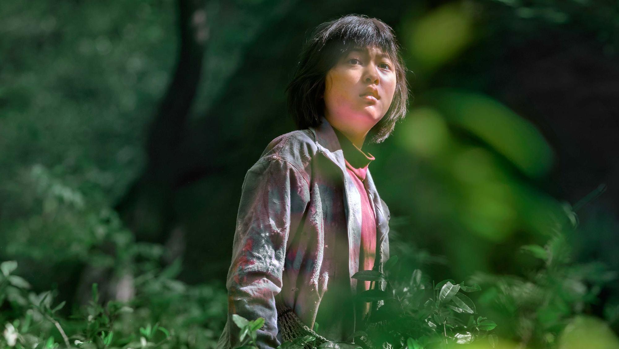 Okja: Ahn Seo-hyun in una scena del film