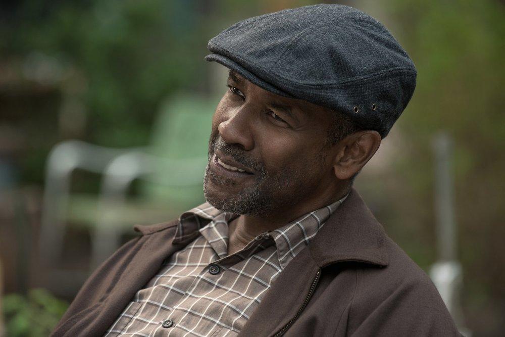 Barriere: Denzel Washington in una scena del film