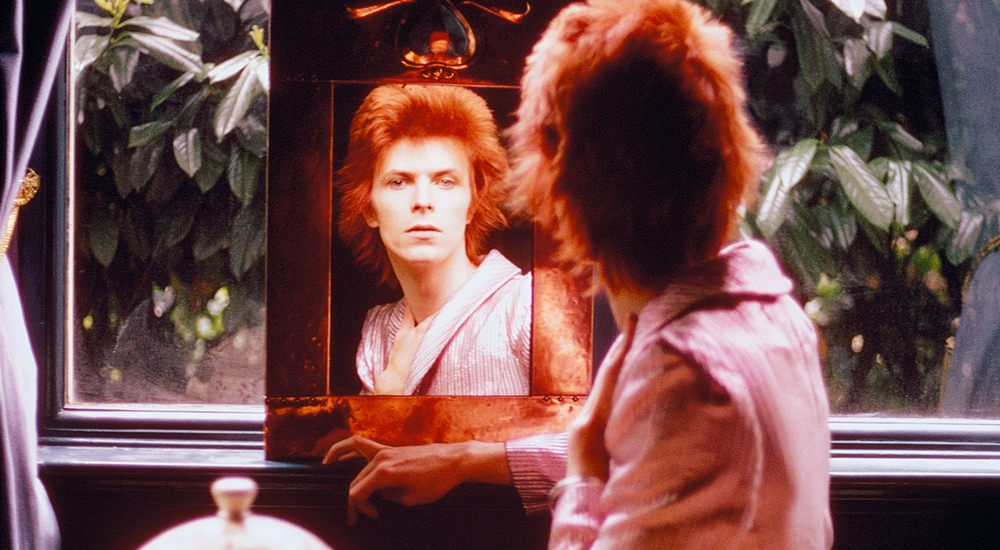 David Bowie nel video di Nothing Has Changed