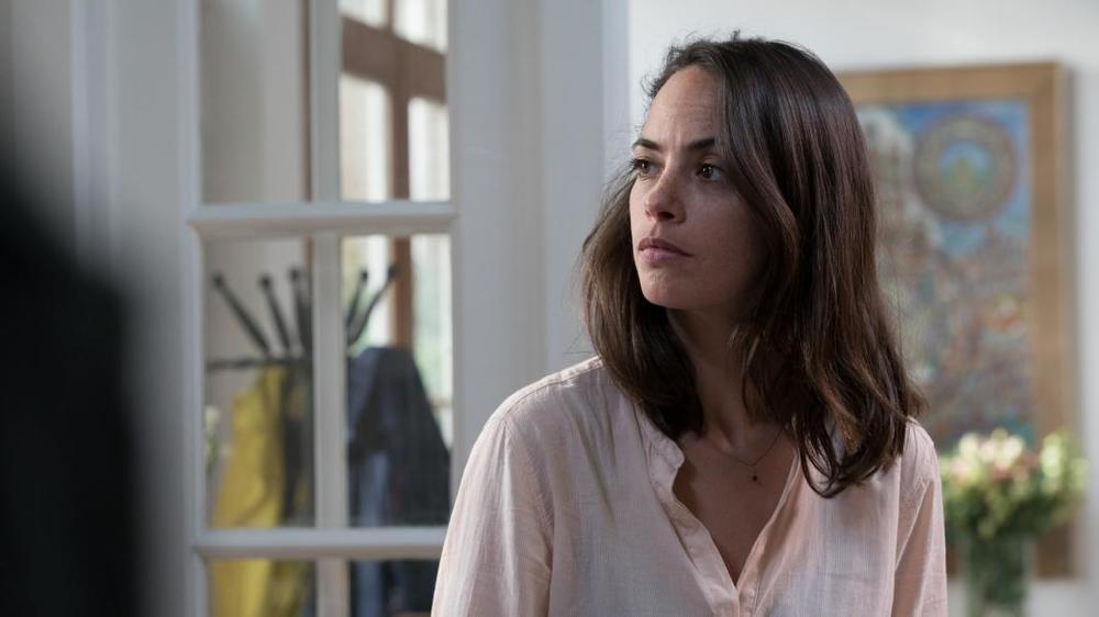 Dopo l'amore: un'inquadratura ravvicinata di Berenice Bejo