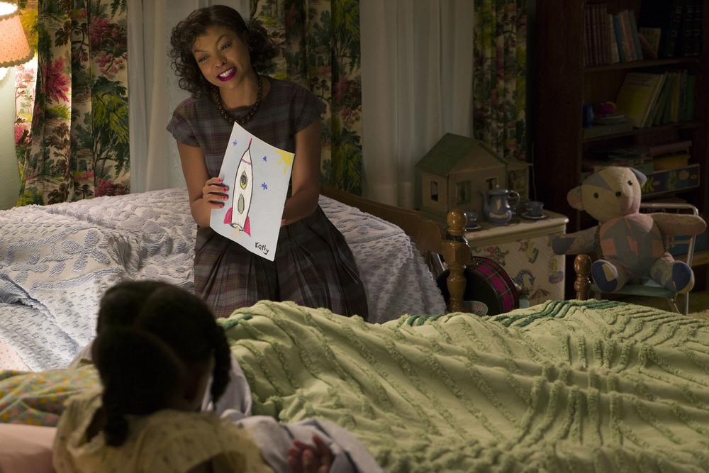 Il diritto di contare: Taraji P. Henson in una scena del film