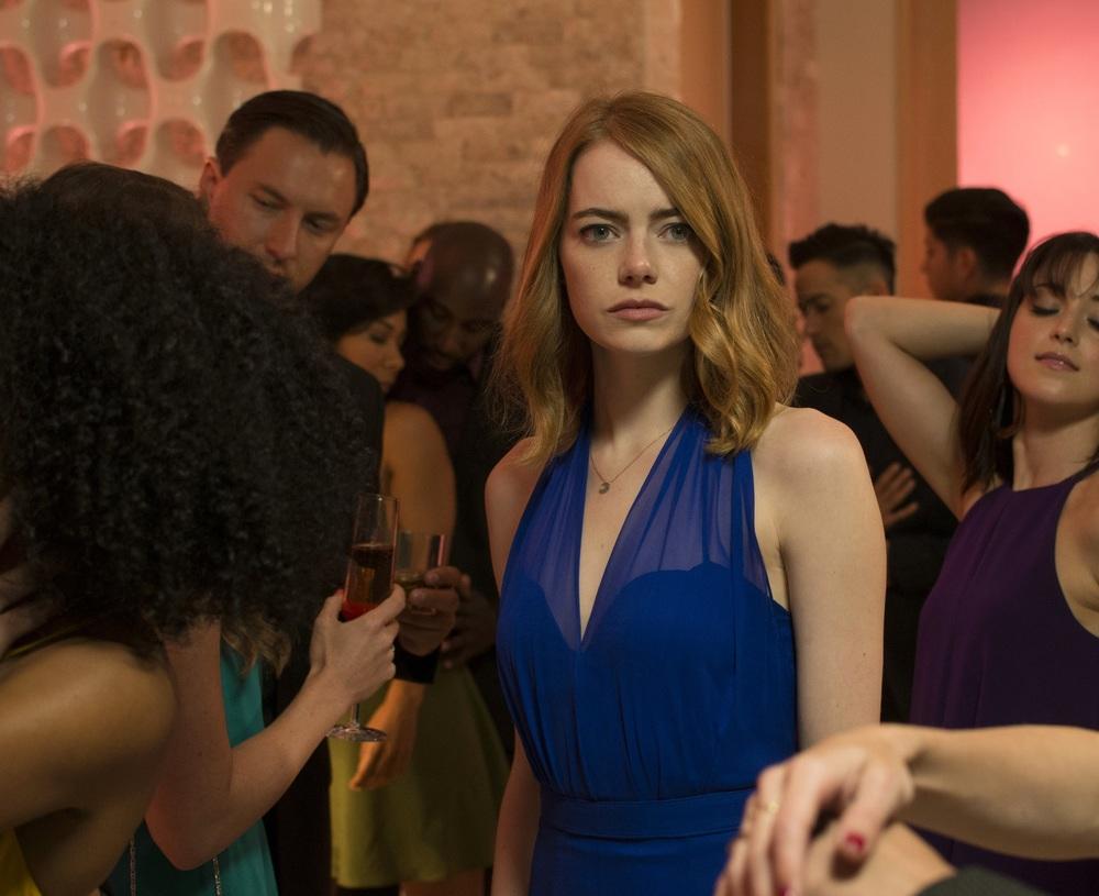 La La Land: Emma Stone in un momento del film