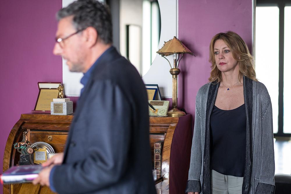 Piccoli crimini coniugali: Margherita Buy e Sergio Castellitto in un momento del film