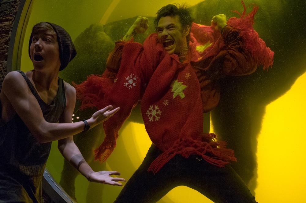Proprio lui?: James Franco e Griffin Gluck in una scena del film
