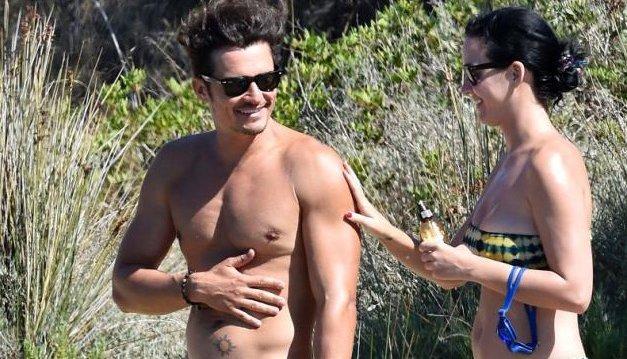 Orlando Bloom e Katy Perry in Sardegna