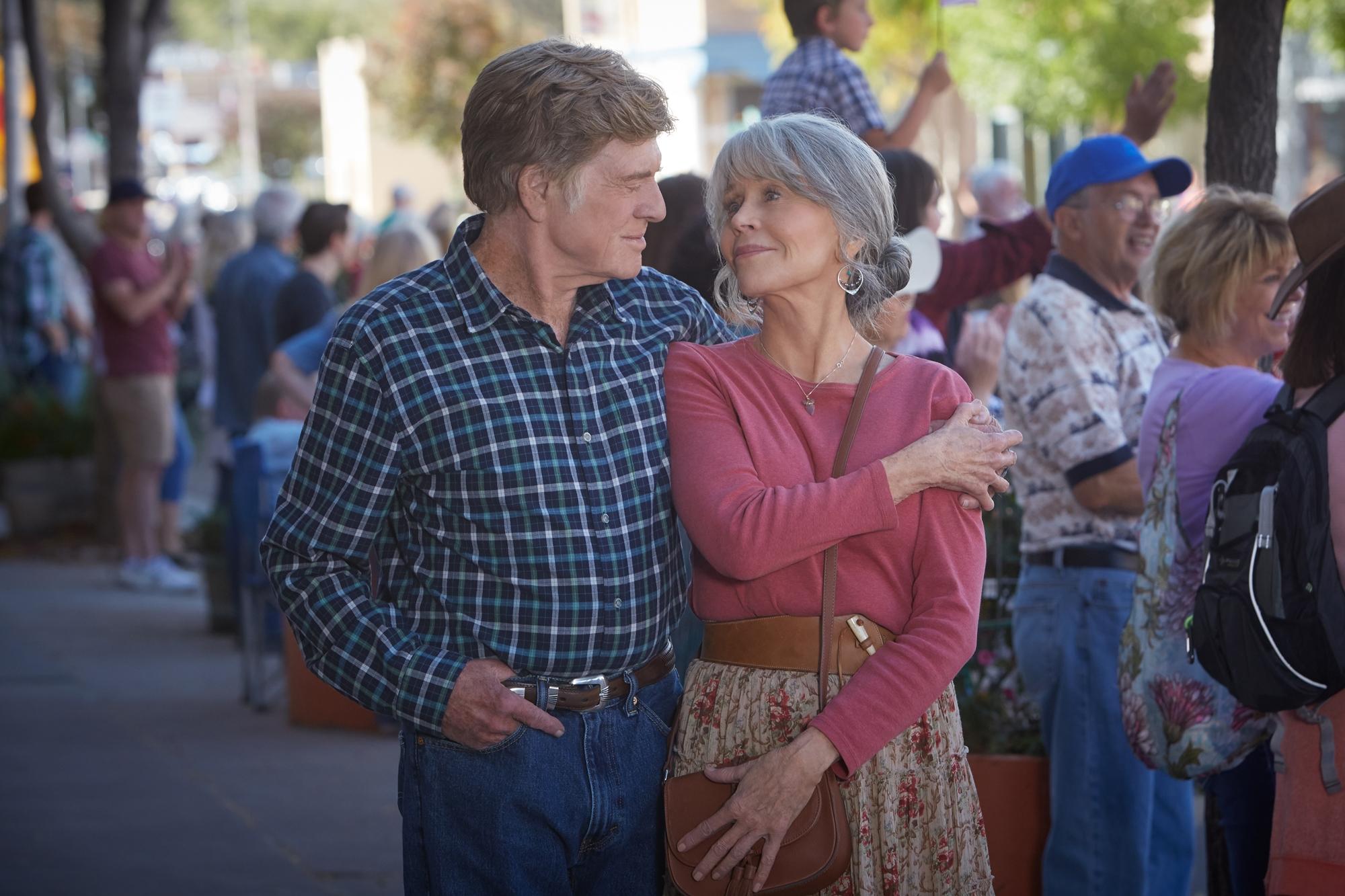Our Souls at Night: Robert Redford e Jane Fonda in una foto del film