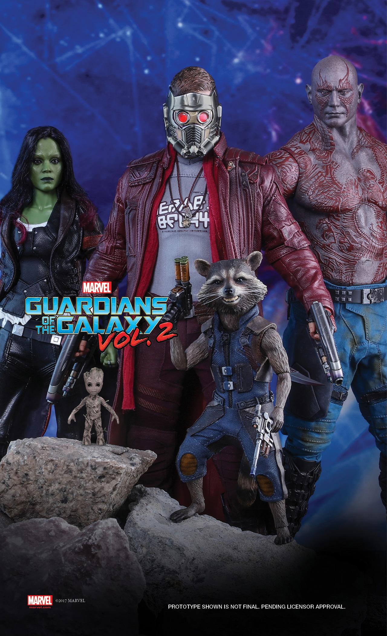 Guardiani della Galassia 2: le prime immagini dei prodotti Hot Toys