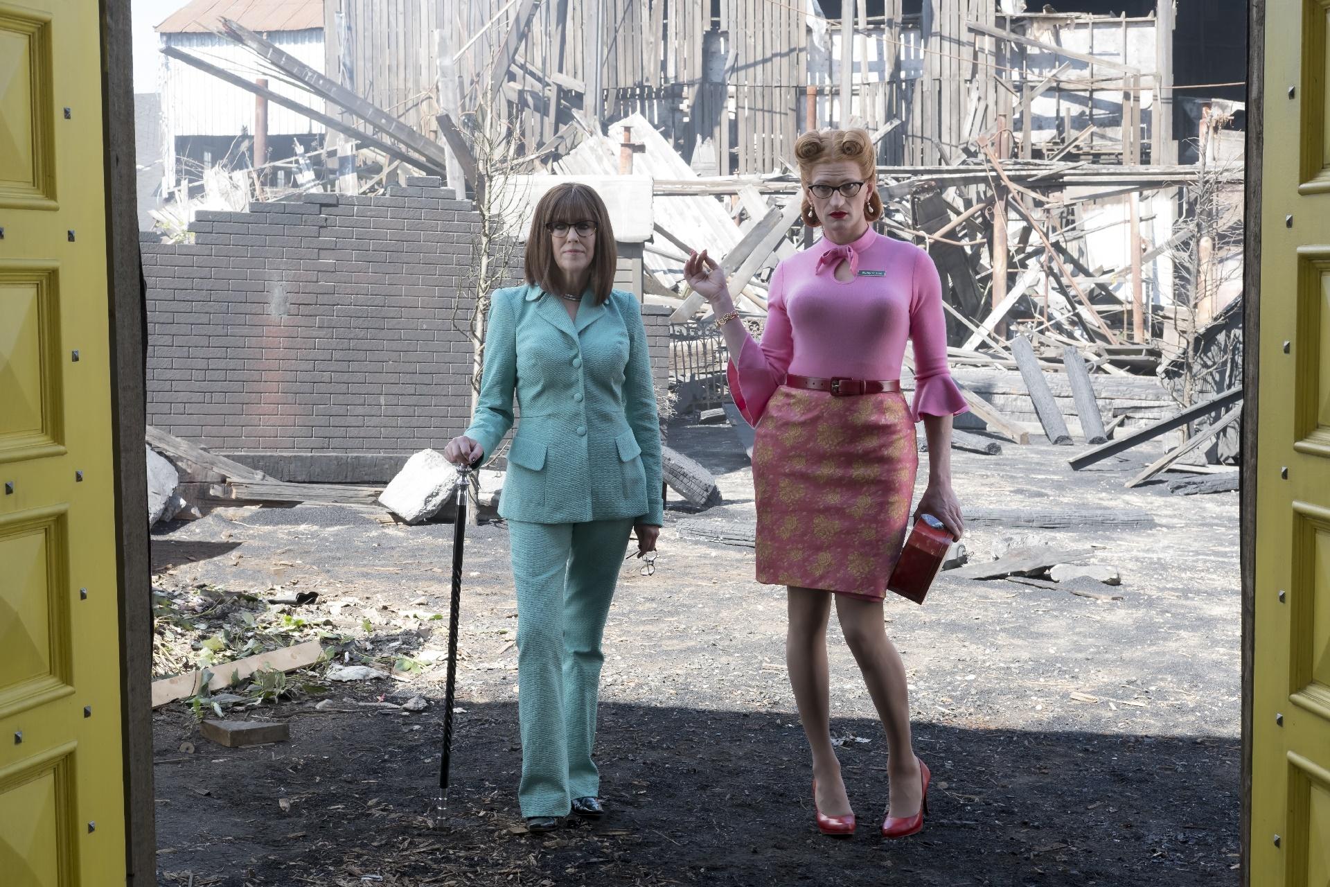Una serie di sfortunati eventi: Catherine O'Hara e Neil Patrick Harris nell'ottavo episodio